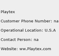 Playtex Phone Number Customer Service