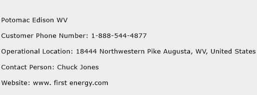 Potomac Edison WV Phone Number Customer Service