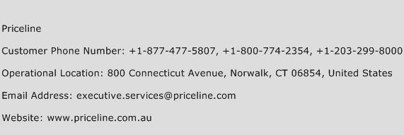 Priceline Phone Number Customer Service