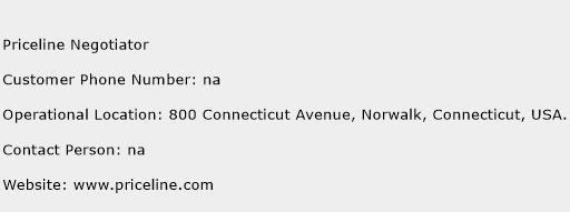 Priceline Negotiator Phone Number Customer Service
