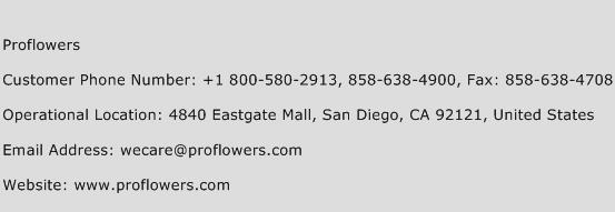 You can call ProFlowers customer service by phone at 1 () Does ProFlowers have any physical locations? No. ProFlowers is strictly an online retailer.4/5(5).