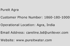 Pureit Agra Phone Number Customer Service