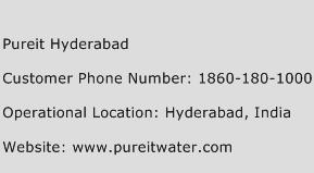Pureit Hyderabad Phone Number Customer Service