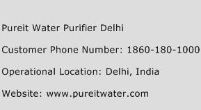 Pureit Water Purifier Delhi Phone Number Customer Service
