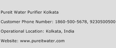 Pureit Water Purifier Kolkata Phone Number Customer Service
