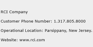 RCI Company Phone Number Customer Service
