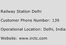 Railway Station Delhi Phone Number Customer Service