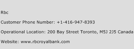Rbc Phone Number Customer Service