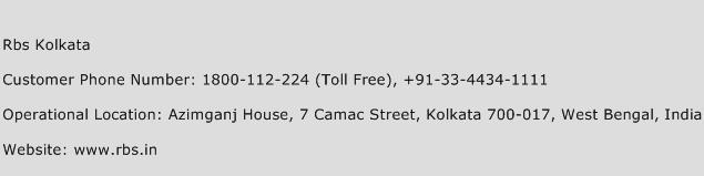 Rbs Kolkata Phone Number Customer Service