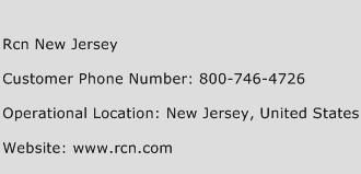 Rcn New Jersey Customer Service Phone Number   (Toll Free) Contact ...