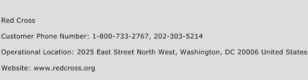 Red Cross Customer Service Phone Number | Contact Number | Toll ...