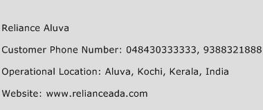Reliance Aluva Phone Number Customer Service