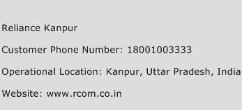 Reliance Kanpur Phone Number Customer Service