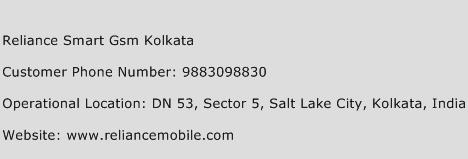 Reliance Smart GSM Kolkata Phone Number Customer Service