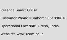 Reliance Smart Orrisa Phone Number Customer Service