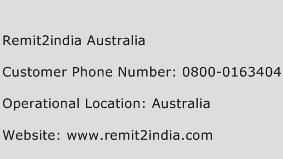 Remit2india Australia Phone Number Customer Service