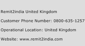 Remit2india United Kingdom Phone Number Customer Service