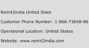 Remit2india United State Phone Number Customer Service