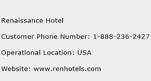 Renaissance Hotel Phone Number Customer Service