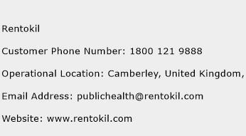 Rentokil Phone Number Customer Service