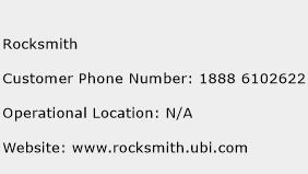Rocksmith Phone Number Customer Service