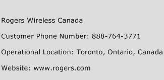 Rogers Wireless Canada Phone Number Customer Service