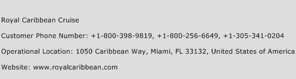 royal caribbean customer service