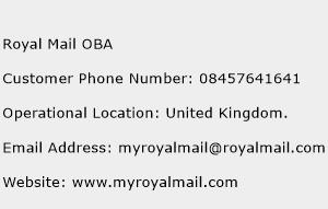 Royal Mail London Customer Support Service Phone Number The customer support phone number of Royal Mail London is + , (0) (Click phone number to call).