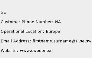 SE Phone Number Customer Service