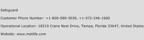 Safeguard Phone Number Customer Service