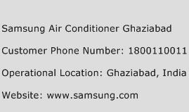 Samsung Air Conditioner Ghaziabad Phone Number Customer Service