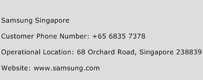 Samsung Singapore Phone Number Customer Service