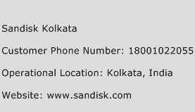 Sandisk Kolkata Phone Number Customer Service
