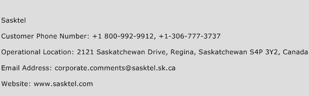 Sasktel Phone Number Customer Service