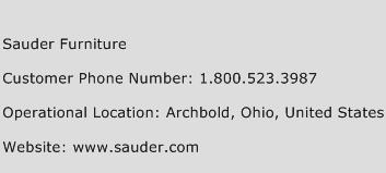 Sauder Furniture Phone Number Customer Service