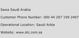 Sawa Saudi Arabia Phone Number Customer Service