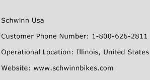 Schwinn USA Phone Number Customer Service