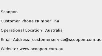 Scoopon Phone Number Customer Service