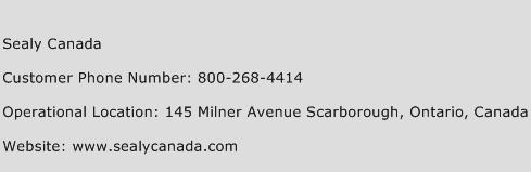 Sealy Canada Phone Number Customer Service