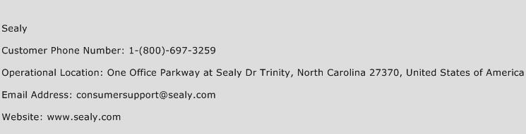 Sealy Phone Number Customer Service