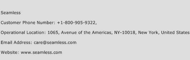 Seamless Phone Number Customer Service