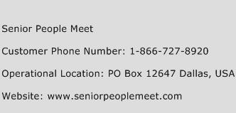 CONSTANCE: Senior people meet contact phone number