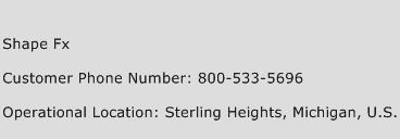 Shape Fx Phone Number Customer Service