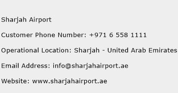 Sharjah Airport Phone Number Customer Service
