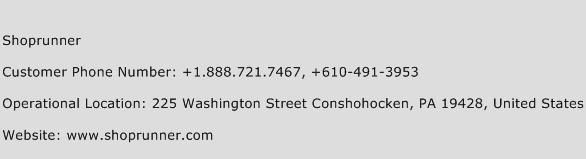 Shoprunner Phone Number Customer Service