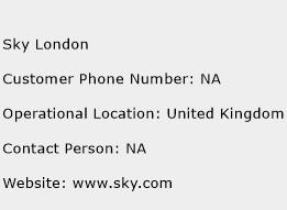 Sky London Phone Number Customer Service