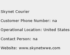 Skynet Courier Phone Number Customer Service