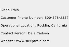 Sleep Train Phone Number Customer Service