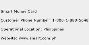 Smart Money Card Phone Number Customer Service