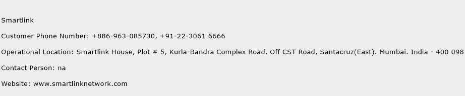 Smartlink Phone Number Customer Service